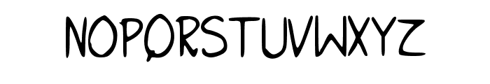 I_NEED_HELP Font UPPERCASE