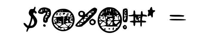 I_like_food Font OTHER CHARS