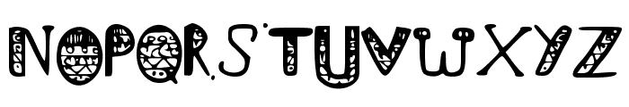 I_like_food Font UPPERCASE