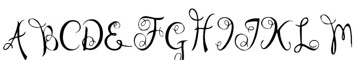 I'm Bored Font UPPERCASE
