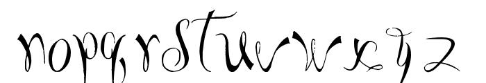 I'm Bored Font LOWERCASE