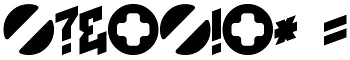 I2trigunMaximum E Font OTHER CHARS