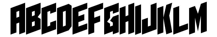 I2trigunMaximum E Font UPPERCASE