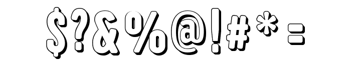 Iam-Hueca Font OTHER CHARS