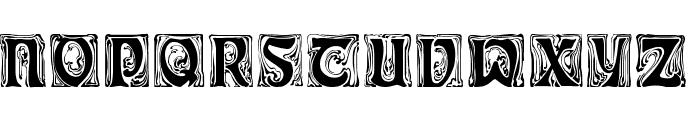 Ian Regular Font UPPERCASE