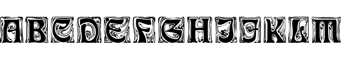 Ian Regular Font LOWERCASE