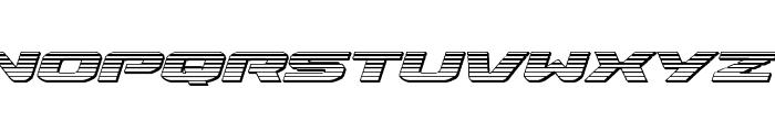Iapetus Chrome Italic Font LOWERCASE