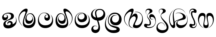iAi Alphabet Font LOWERCASE