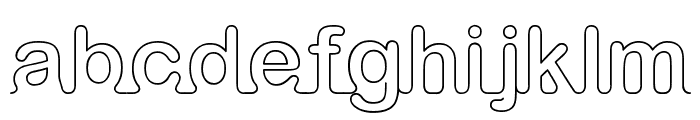 iarnold Font LOWERCASE