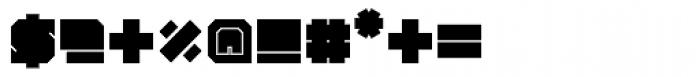 Iamblock Monospace Font OTHER CHARS