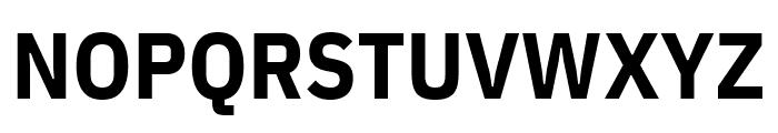 IBM Plex Sans Condensed Bold Font UPPERCASE