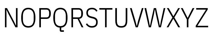 IBM Plex Sans Condensed Light Font UPPERCASE