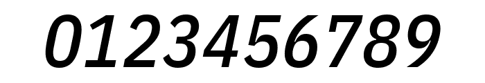 IBM Plex Sans Condensed Medium Italic Font OTHER CHARS