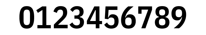 IBM Plex Sans Condensed SemiBold Font OTHER CHARS