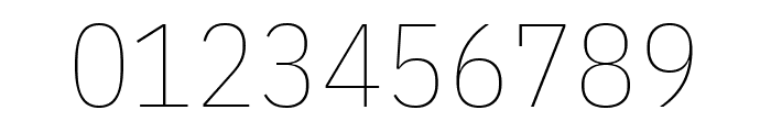IBM Plex Sans Condensed Thin Font OTHER CHARS