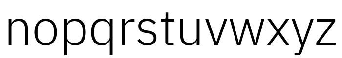 IBM Plex Sans Light Font LOWERCASE