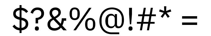 IBM Plex Sans Font OTHER CHARS