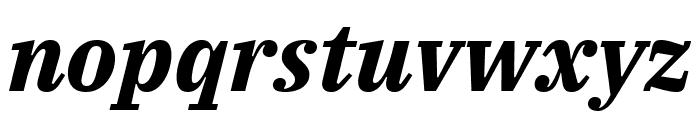 IBM Plex Serif Bold Italic Font LOWERCASE