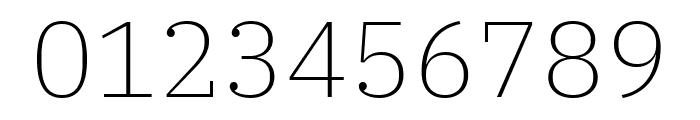 IBM Plex Serif ExtraLight Font OTHER CHARS