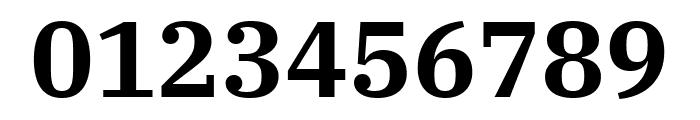 IBM Plex Serif SemiBold Font OTHER CHARS