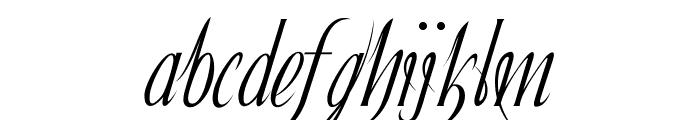 Ibleum Font LOWERCASE