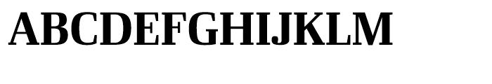 Ibis Display Bold Font UPPERCASE