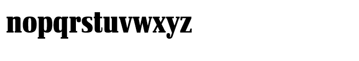 Ibis Display Compressed Black Font LOWERCASE