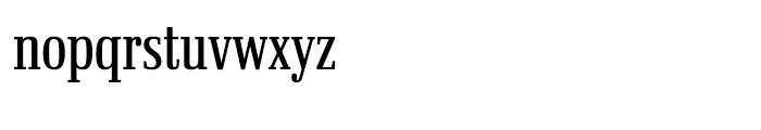 Ibis Display Compressed Light Font LOWERCASE