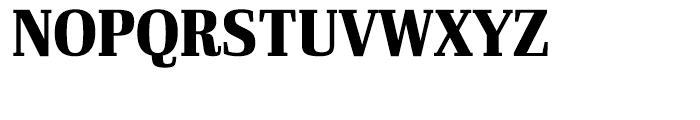 Ibis Display Condensed Black Font UPPERCASE