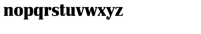 Ibis Display Condensed Black Font LOWERCASE
