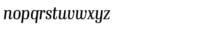 Ibis Display Condensed Light Italicc Font LOWERCASE