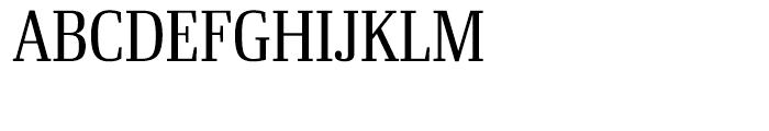 Ibis Display Condensed Light Font UPPERCASE