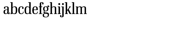 Ibis Display Condensed Light Font LOWERCASE