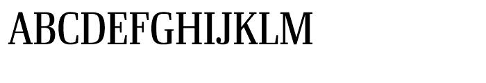 Ibis Display Condensed Regular Font UPPERCASE