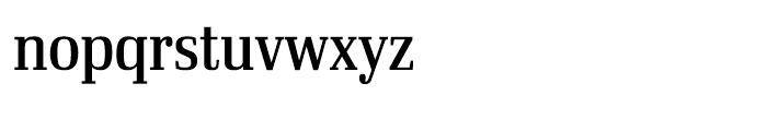 Ibis Display Condensed Regular Font LOWERCASE