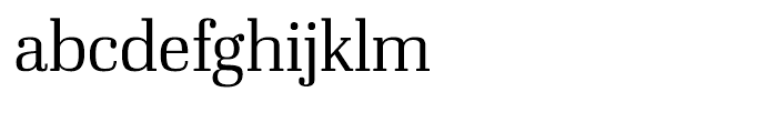 Ibis Display Extra Light Font LOWERCASE