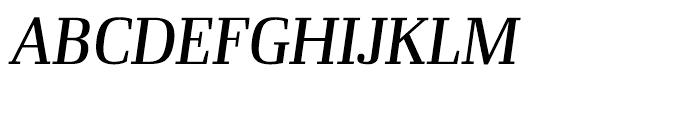 Ibis Display Regular Italic Font UPPERCASE