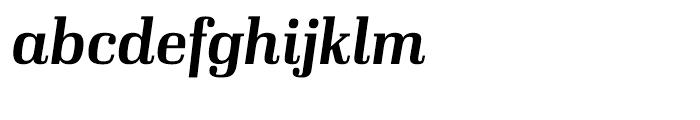Ibis Display Semi Bold Italic Font LOWERCASE
