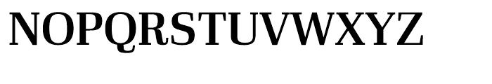 Ibis Display Semi Bold Font UPPERCASE