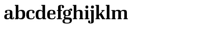 Ibis Display Semi Bold Font LOWERCASE