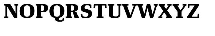 Ibis Text Black Font UPPERCASE