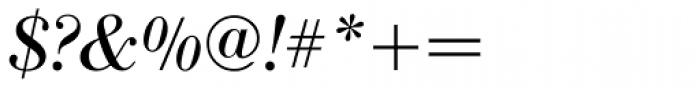 IBM Bodoni Italic Font OTHER CHARS