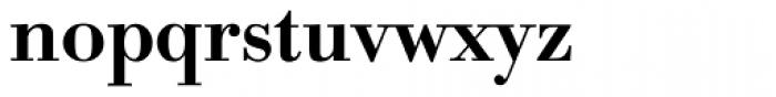IBM Bodoni Medium Font LOWERCASE