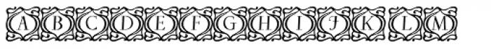 Ibarra Decorative Font UPPERCASE