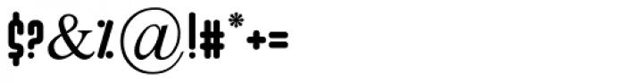 Ibis MF Medium Font OTHER CHARS