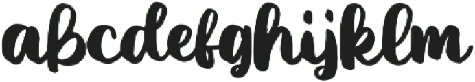 Ice Valley otf (400) Font LOWERCASE