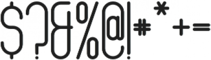 Iconic Bold otf (700) Font OTHER CHARS
