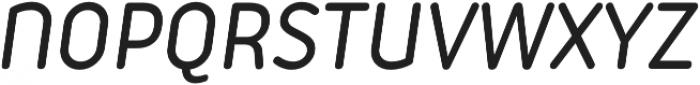 Iconic Medium Italic otf (500) Font UPPERCASE