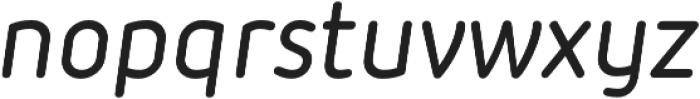 Iconic Medium Italic otf (500) Font LOWERCASE