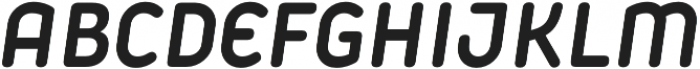 Iconic otf (700) Font UPPERCASE